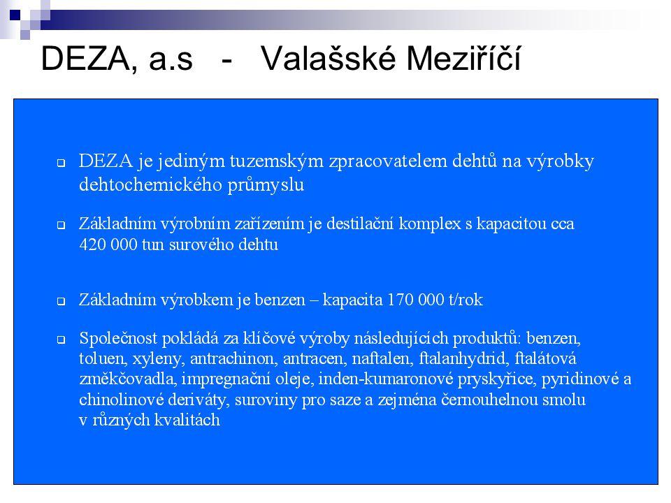 DEZA, a.s - Valašské Meziříčí