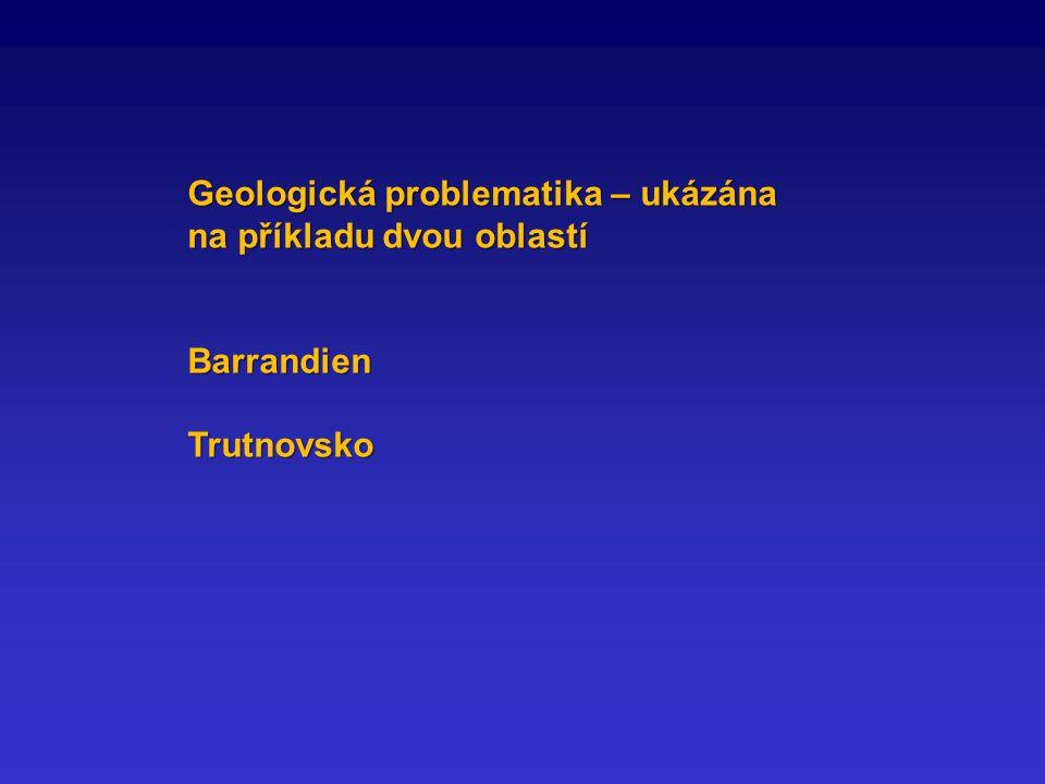 Geologická problematika – ukázána na příkladu dvou oblastí BarrandienTrutnovsko
