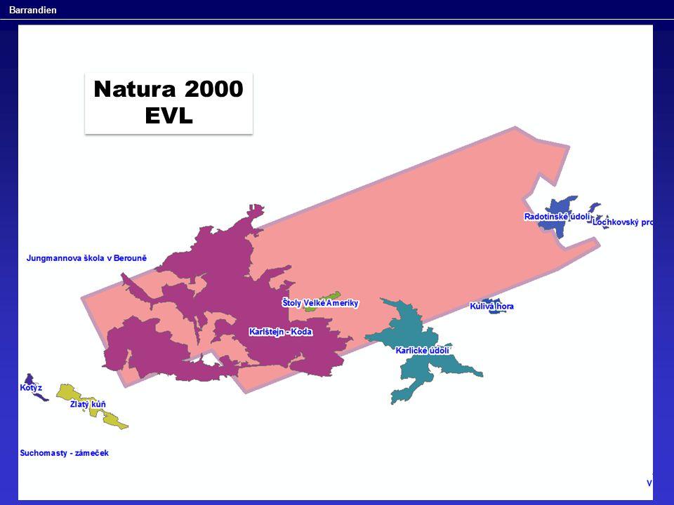 Barrandien Natura 2000 EVL