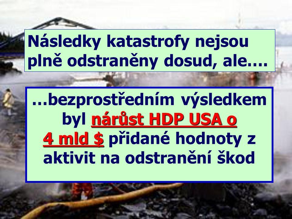Následky katastrofy nejsou plně odstraněny dosud, ale….