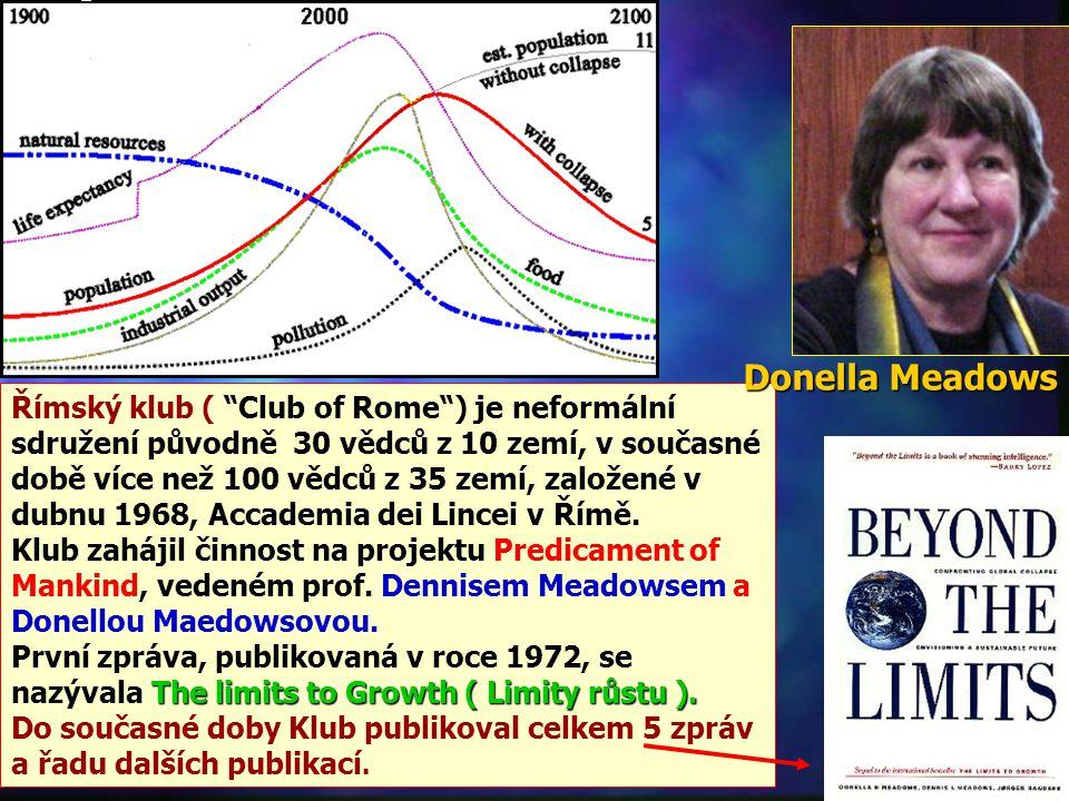 Římský klub ( Club of Rome ) je neformální sdružení původně 30 vědců z 10 zemí, v současné době více než 100 vědců z 35 zemí, založené v dubnu 1968, Accademia dei Lincei v Římě.