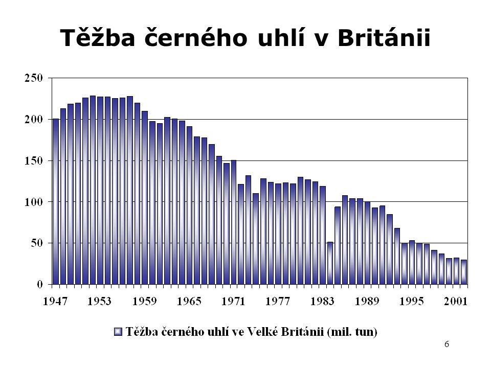 6 Těžba černého uhlí v Británii