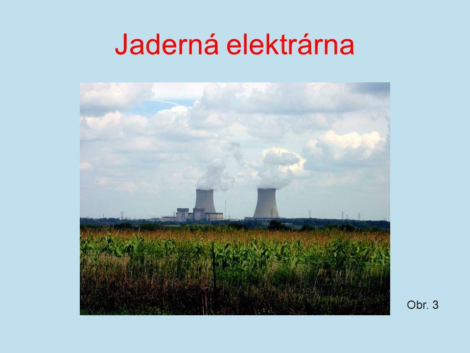 Jaderná elektrárna Obr. 3