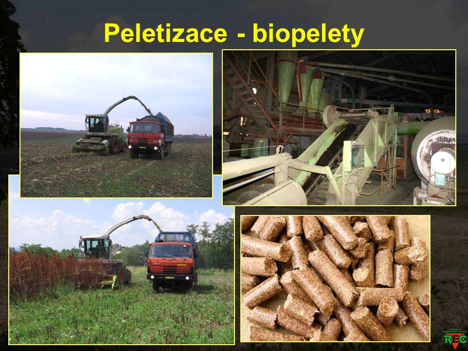 Peletizace - biopelety