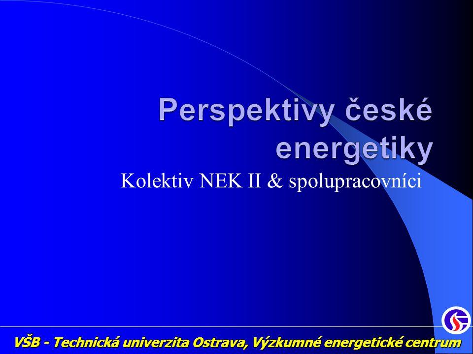 VŠB - Technická univerzita Ostrava, Výzkumné energetické centrum Kolektiv NEK II & spolupracovníci