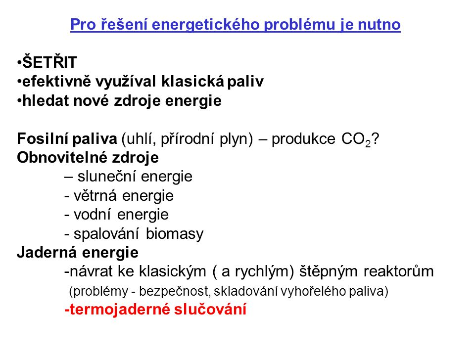 Co je to ITER.