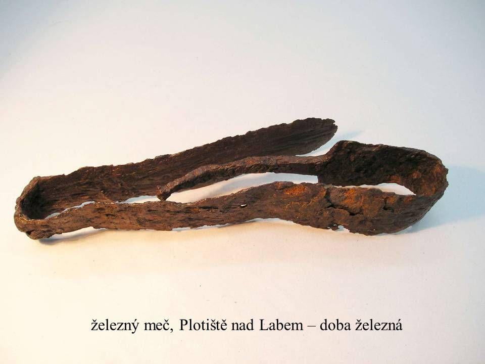 Jakub Jirásek23 železný meč, Plotiště nad Labem – doba železná