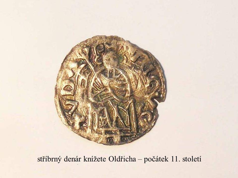 Jakub Jirásek28 stříbrný denár knížete Oldřicha – počátek 11. století
