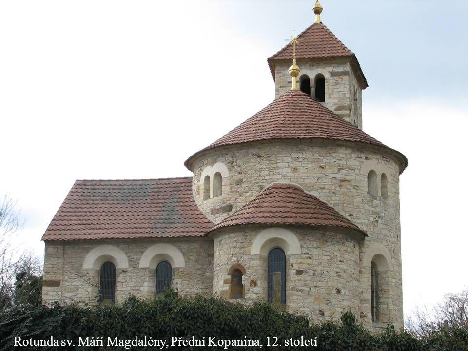 Jakub Jirásek29 Rotunda sv. Máří Magdalény, Přední Kopanina, 12. století