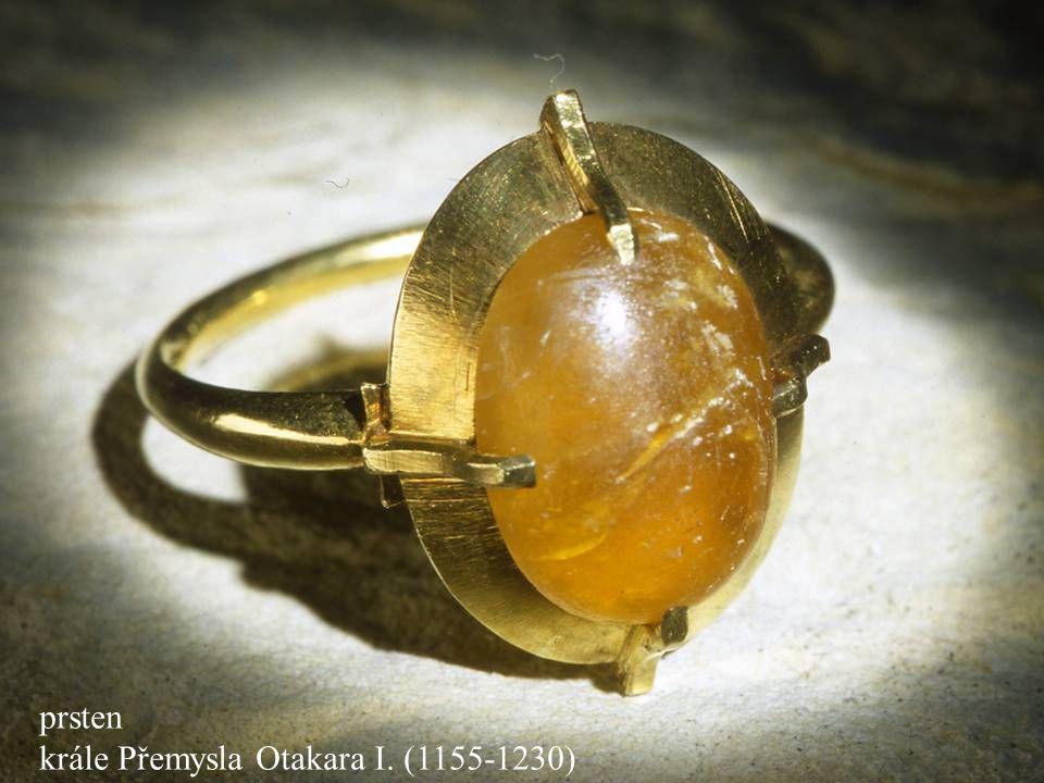 Jakub Jirásek40 prsten krále Přemysla Otakara I. (1155-1230)