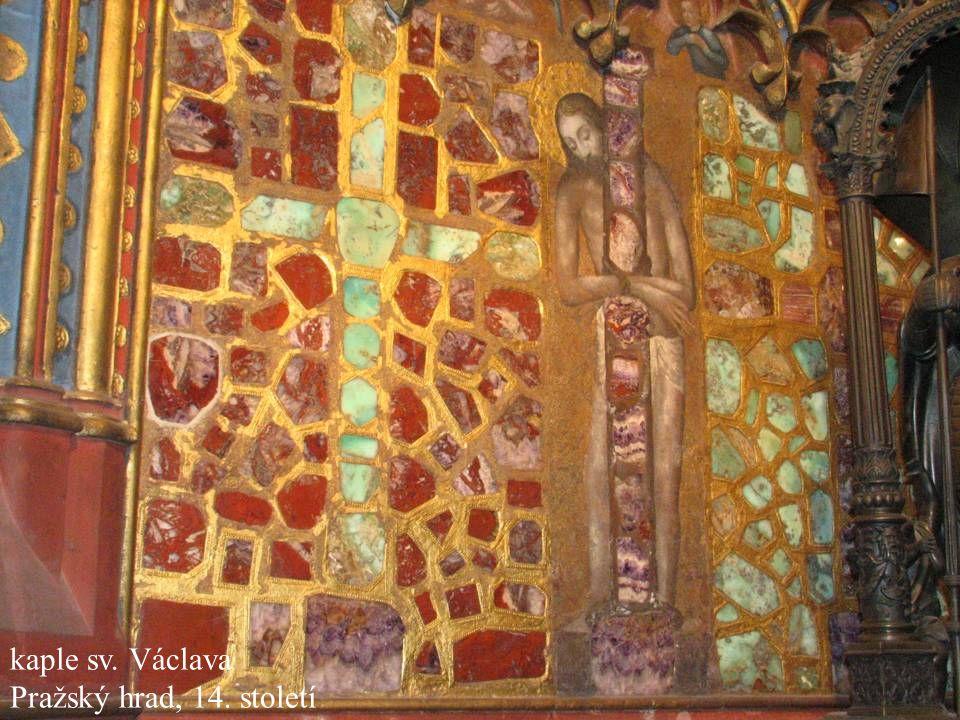 Jakub Jirásek41 kaple sv. Václava Pražský hrad, 14. století