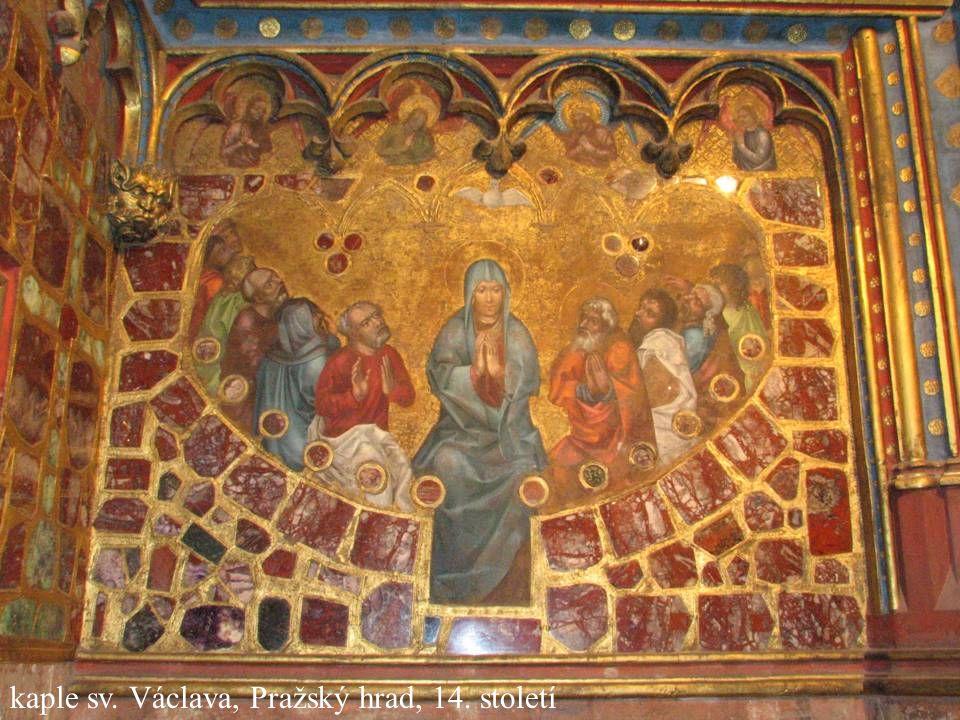 Jakub Jirásek42 kaple sv. Václava, Pražský hrad, 14. století