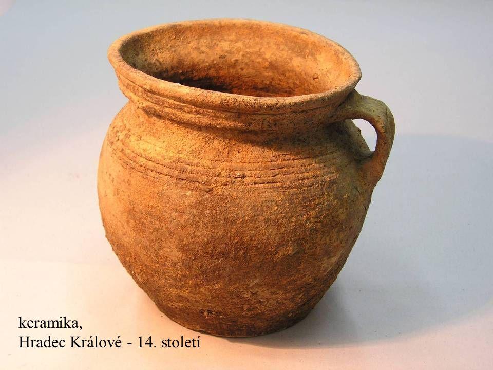 Jakub Jirásek45 keramika, Hradec Králové - 14. století