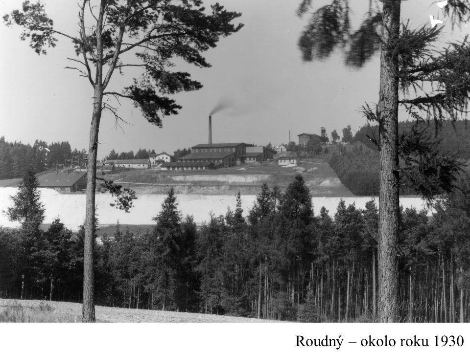 Roudný – okolo roku 1930