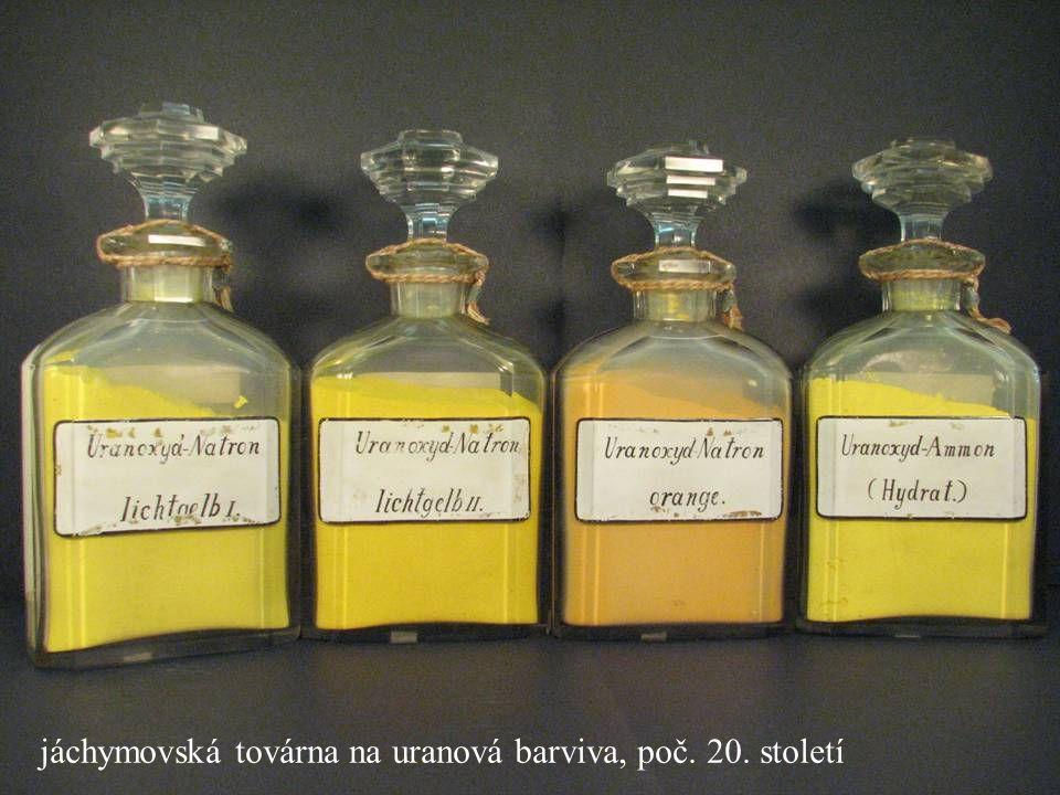 Jakub Jirásek69 jáchymovská továrna na uranová barviva, poč. 20. století