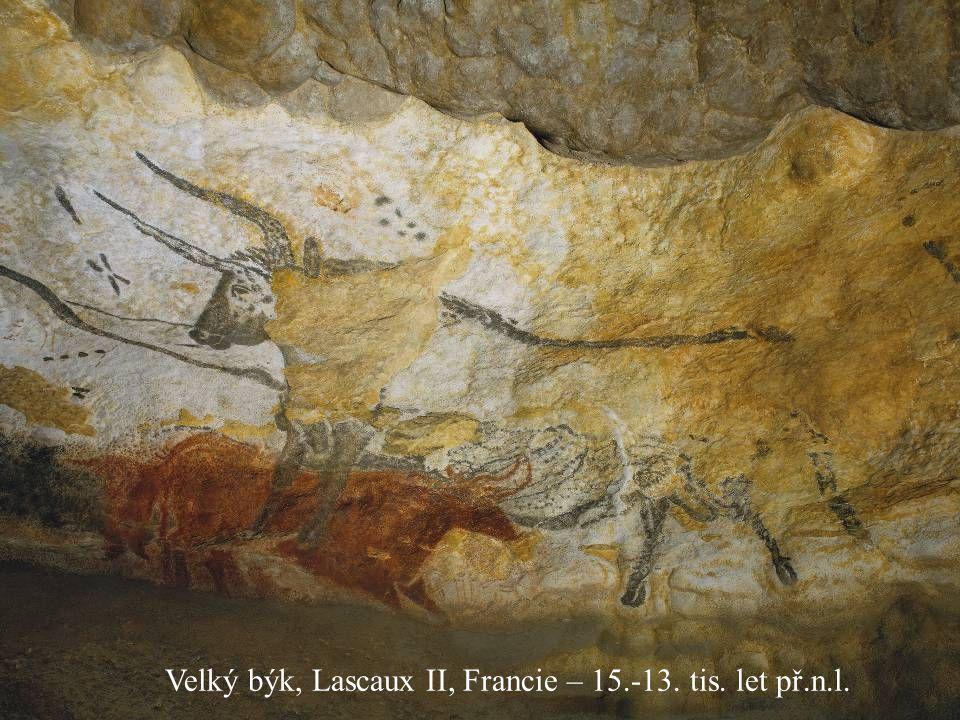 Jakub Jirásek7 Velký býk, Lascaux II, Francie – 15.-13. tis. let př.n.l.