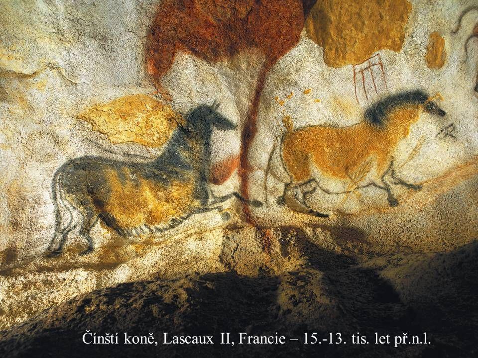 Jakub Jirásek8 Čínští koně, Lascaux II, Francie – 15.-13. tis. let př.n.l.