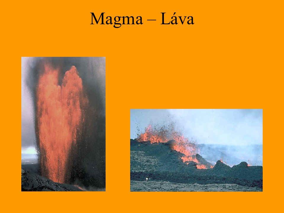 Diferenciace magmatu Bowenovo krystalizační schéma Olivín Augit Amfibol Biotit Ca – plagioklas Plagioklas Na – plagioklas (albit) Ortoklas Muskovit Křemen MAFICKÉ INTERMEDIÁRNÍ KYSELÉ