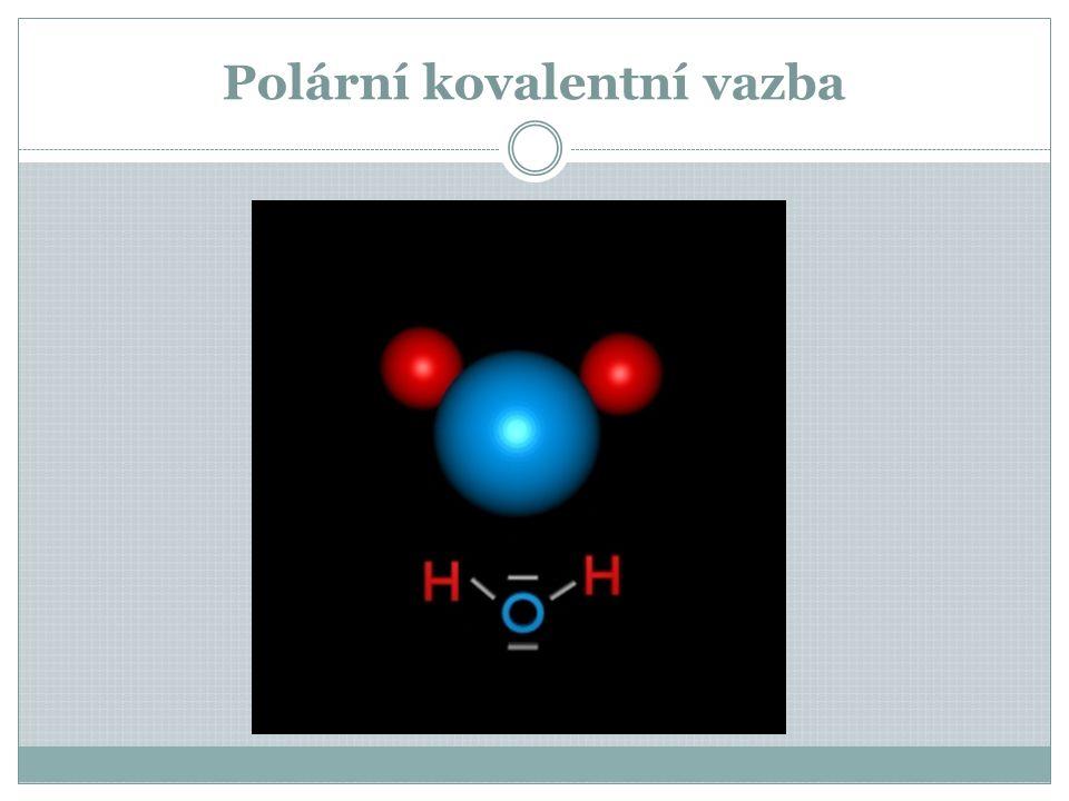 Polární kovalentní vazba