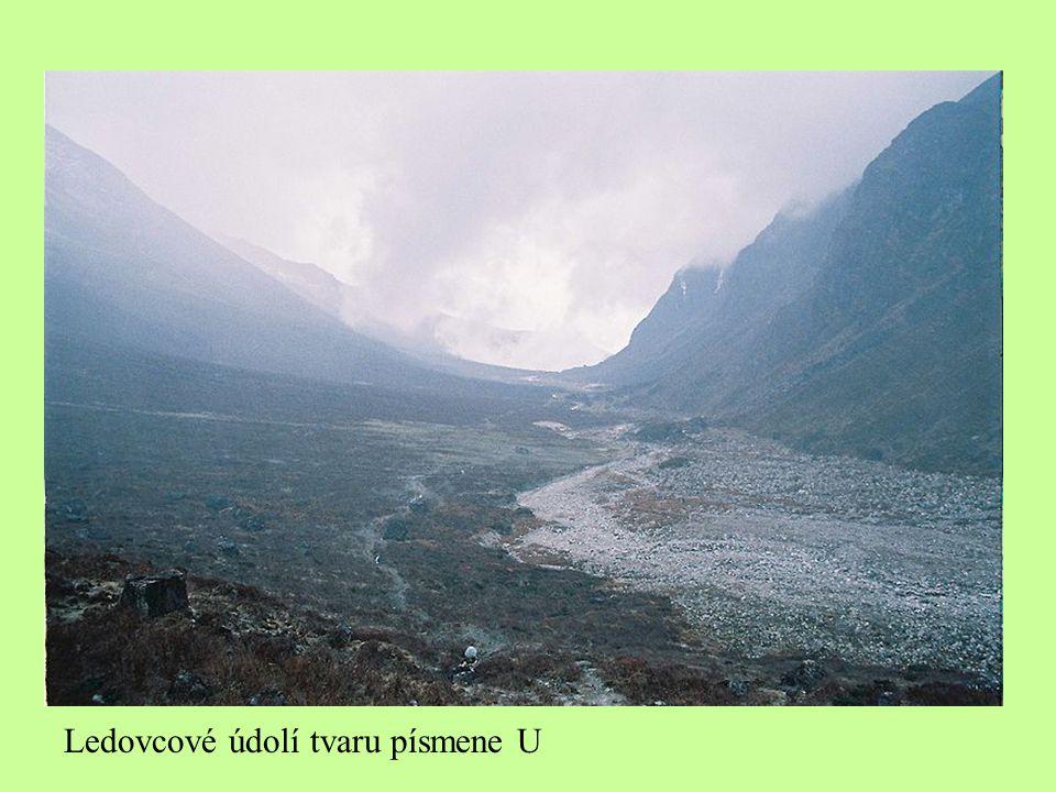 Ledovcové údolí tvaru písmene U
