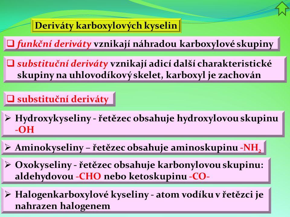  estery vyšších karboxylových (tzv.