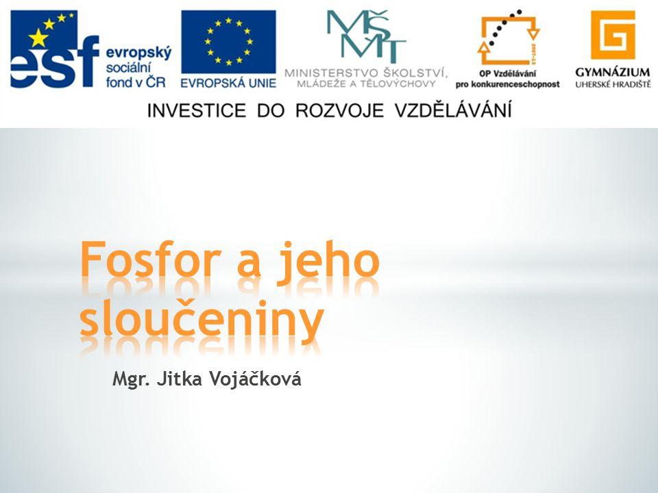 Mgr. Jitka Vojáčková