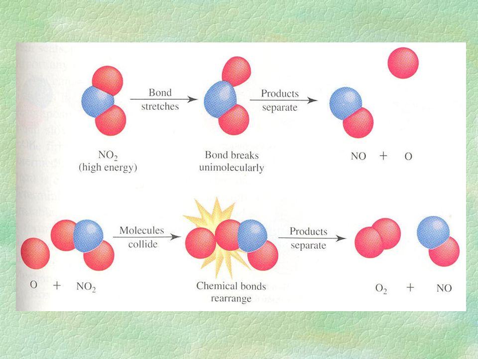 katalýza: katalyzátor je látka, která zvyšuje rychlost reakce, aniž by v reakci byla sama spotřebovávána katalyzátor: nesnižuje aktivační energii reakce, vede reakci po jiné reakční cestě (vznikají jiné aktivované komplexy s nižší aktivační energií)