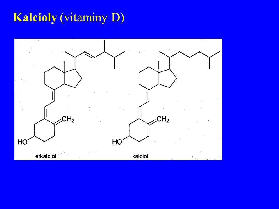Kalcioly (vitaminy D)