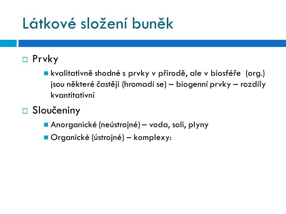 1) Bílkoviny  I.