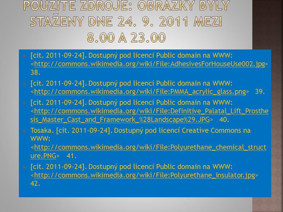  [cit. 2011-09-24]. Dostupný pod licencí Public domain na WWW: 38.http://commons.wikimedia.org/wiki/File:AdhesivesForHouseUse002.jpg  [cit. 2011-09-