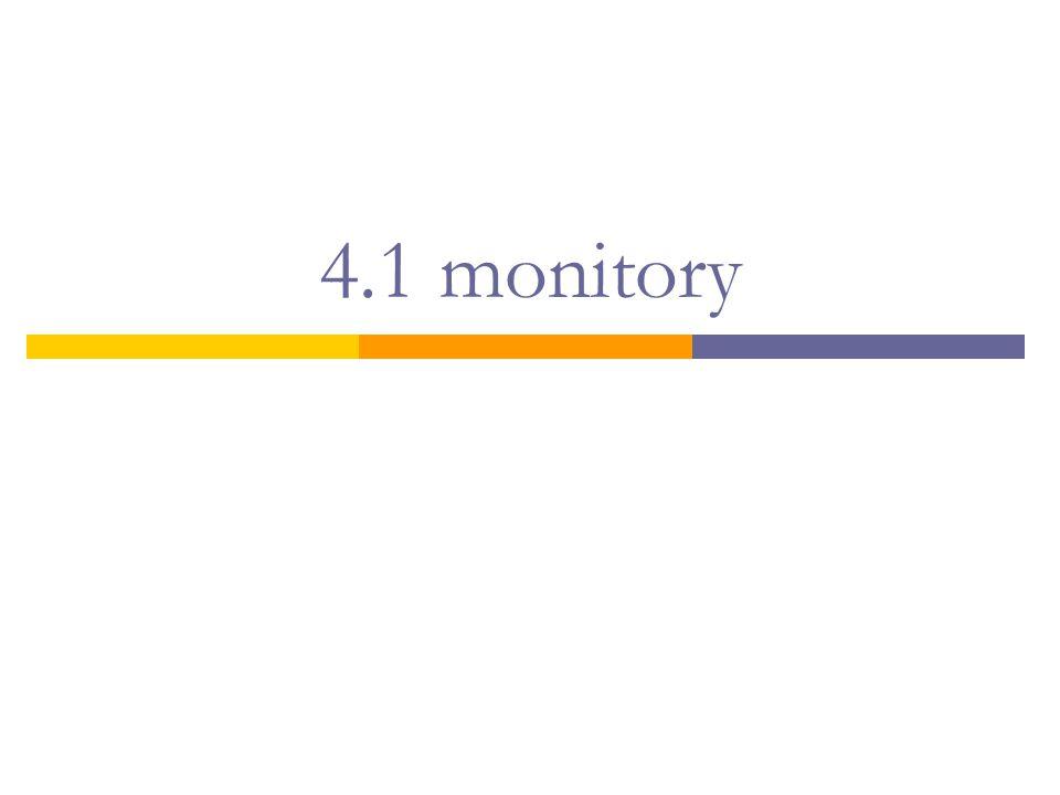 4.1 monitory