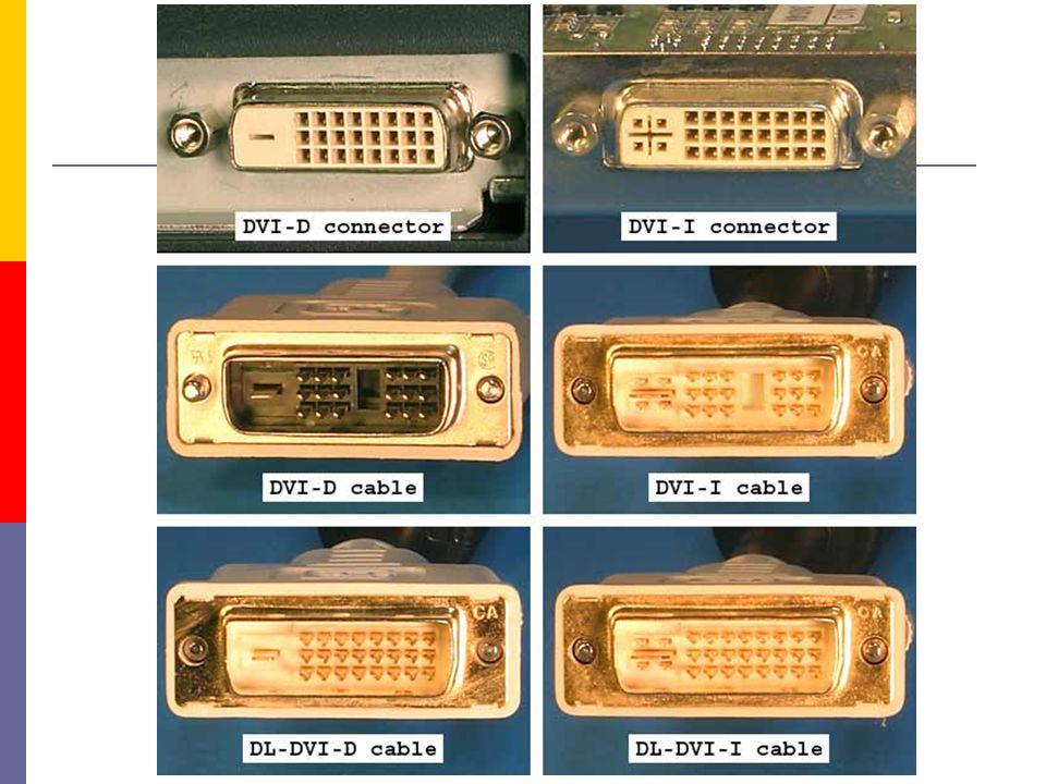  frekvence horizontální - řádková  počet řádků vykreslených za sekundu  udává se v kHz vertikální – obnovovací  počet obrazovek vykreslených za sekundu  udává se v Hz  souvisí se setrvačností oka  film : 24 obrázků/s  vhodná frekvence  CRT min 85 Hz  LCD min 60Hz  TV 50 nebo 100 Hz