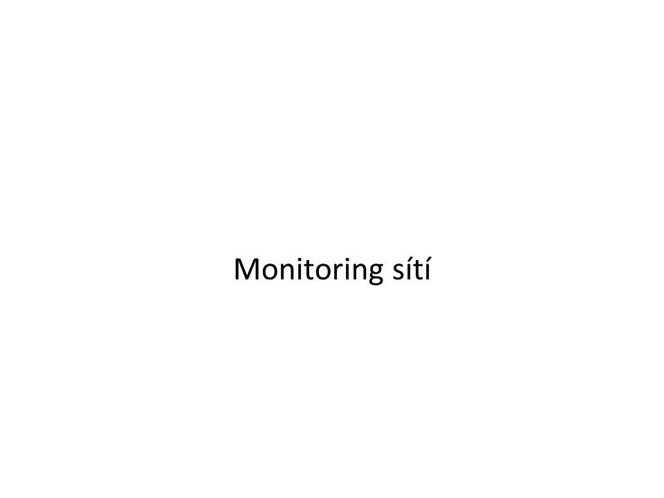 Monitoring sítí