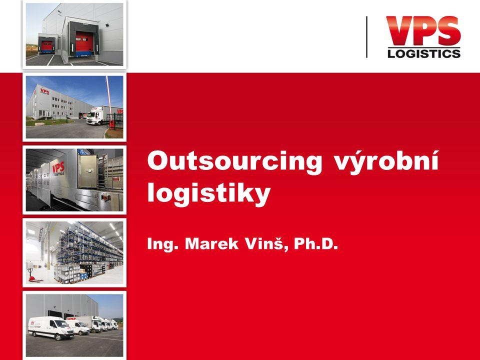 OBSAH PREZENTACE 2 Outsourcing logistiky Specifika výrobní logistiky Případová studie VPS Shrnutí
