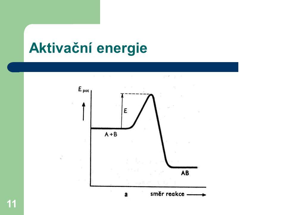 11 Aktivační energie