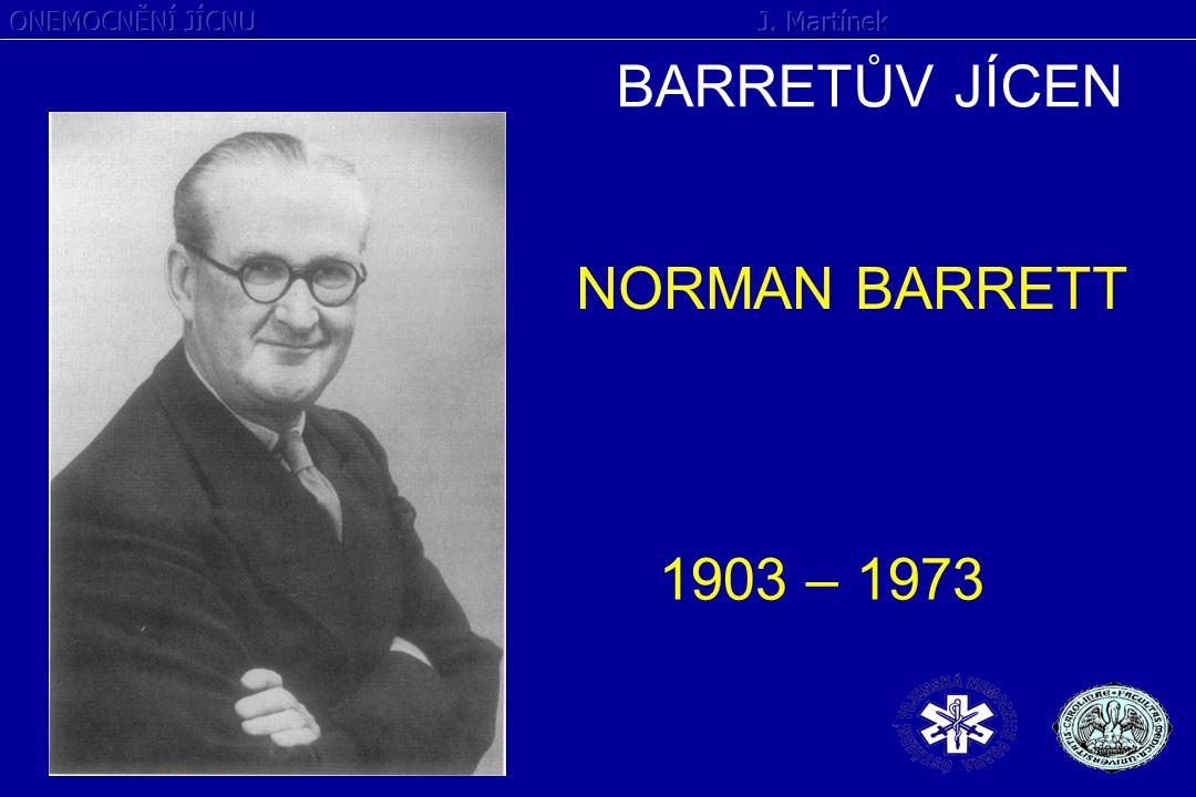 BARRETŮV JÍCEN NORMAN BARRETT 1903 – 1973