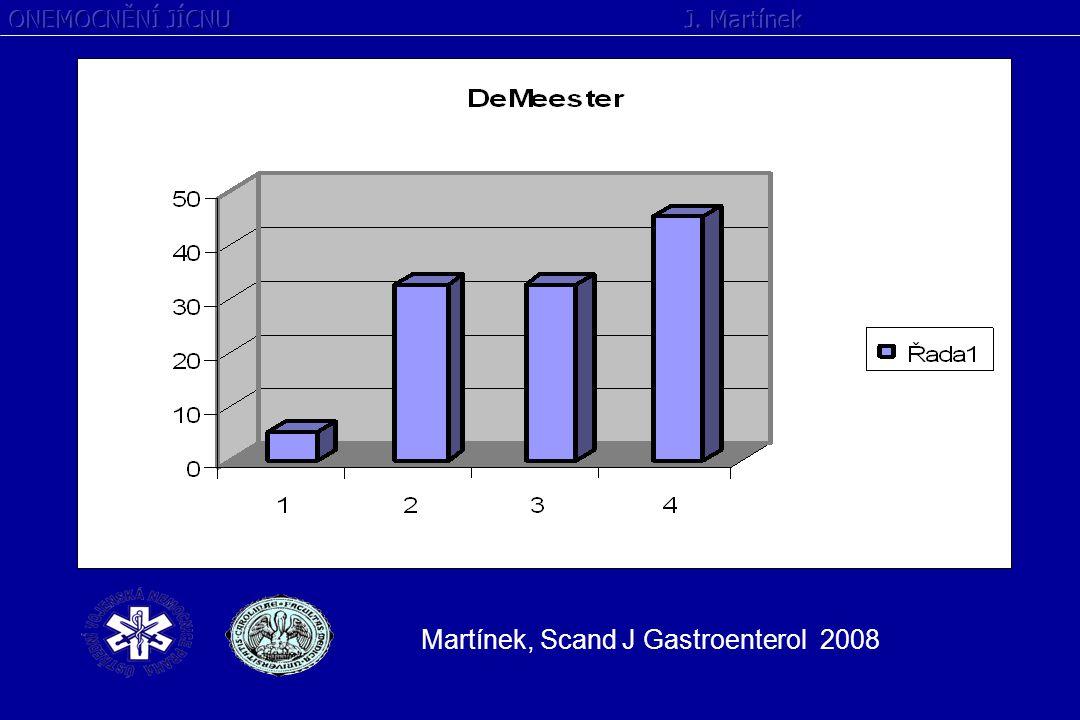 Martínek, Scand J Gastroenterol 2008