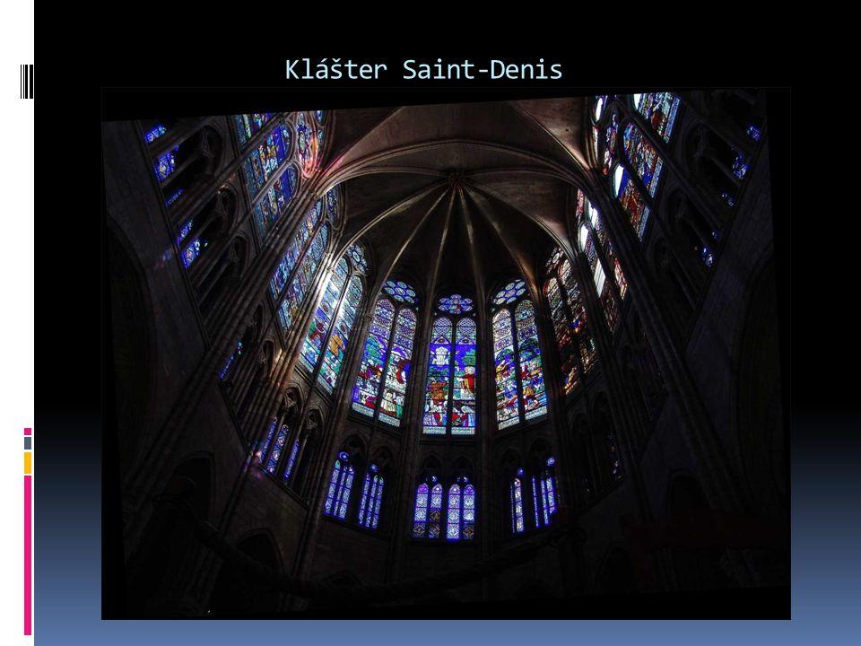 Klášter Saint-Denis 