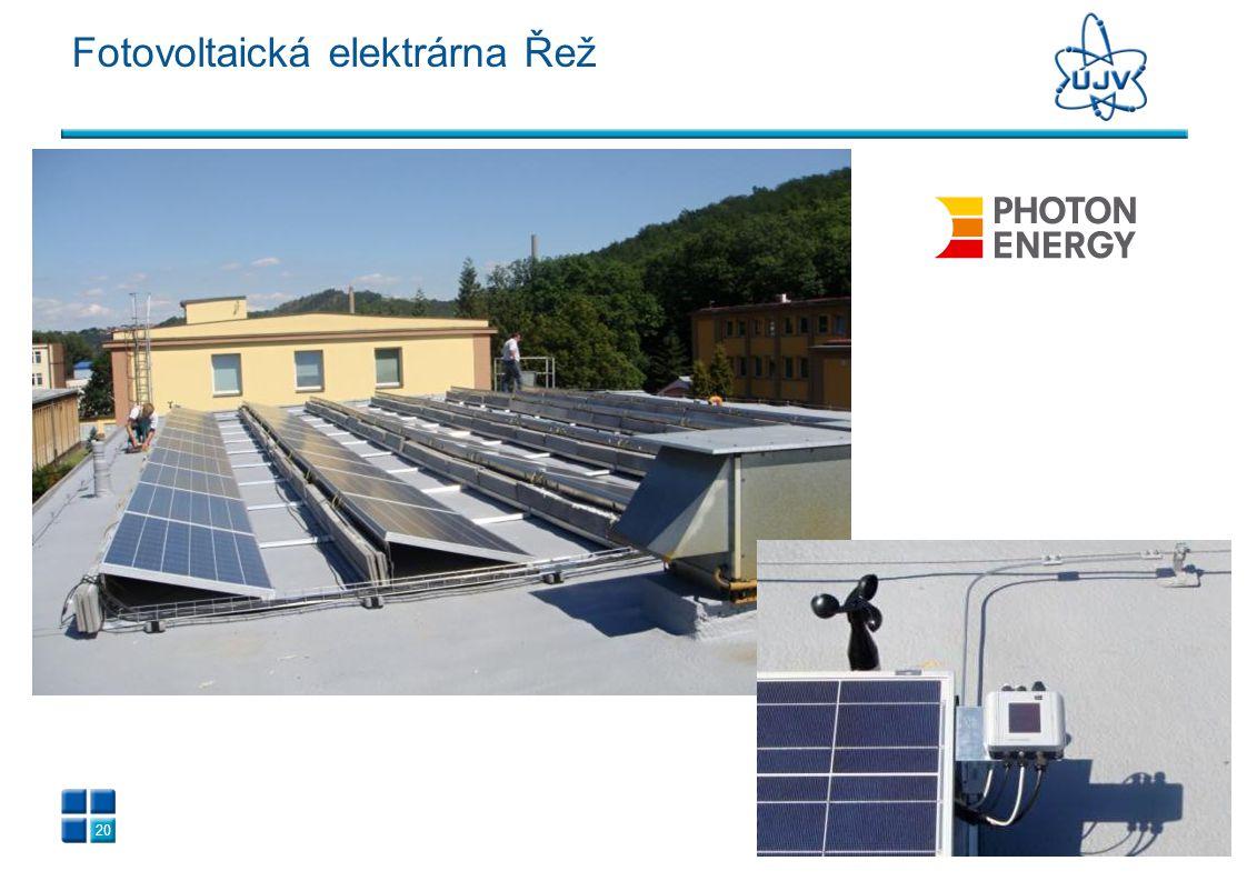 20 Fotovoltaická elektrárna Řež
