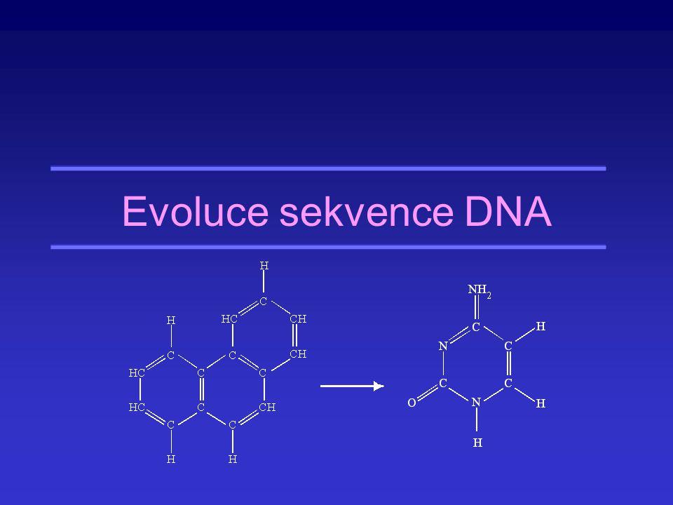 Doba potřebná k fixaci mutace (Příklad) Savec, generační doba 2 roky, efektivní velikost populace 10 6 jedinců Neutrální mutace: 8 milionů let Mutace se selekčním koeficientem ±0,01: 5800 let