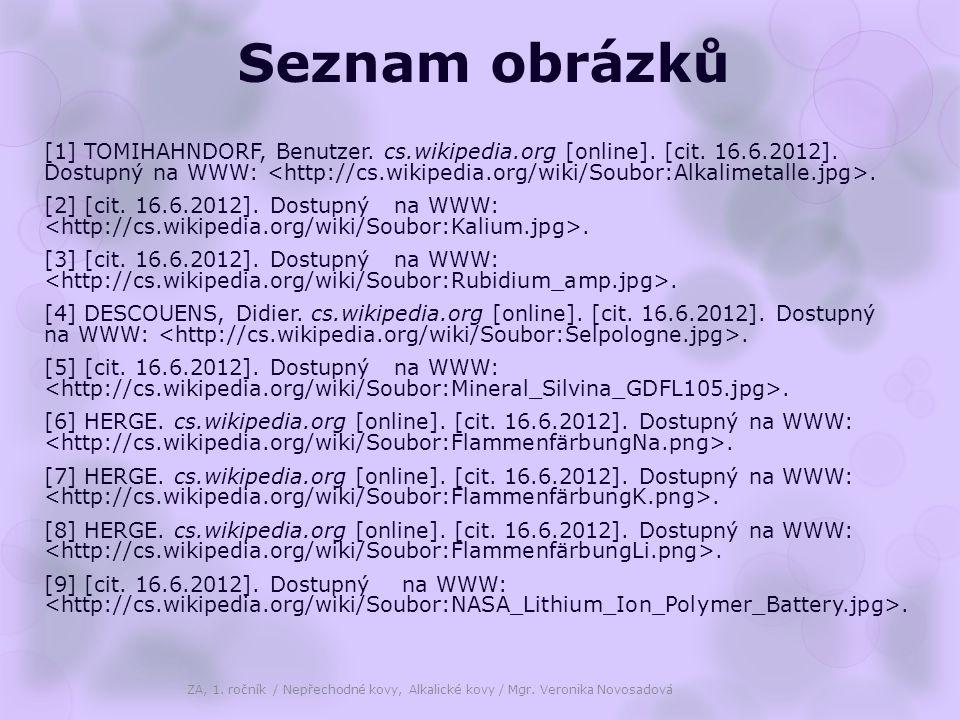 Seznam obrázků [1] TOMIHAHNDORF, Benutzer. cs.wikipedia.org [online].