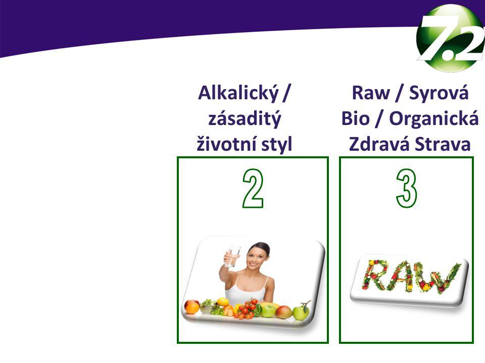 SevenPoint2 základy Raw / Syrová Bio / Organická Zdravá Strava Alkalický / zásaditý životní styl