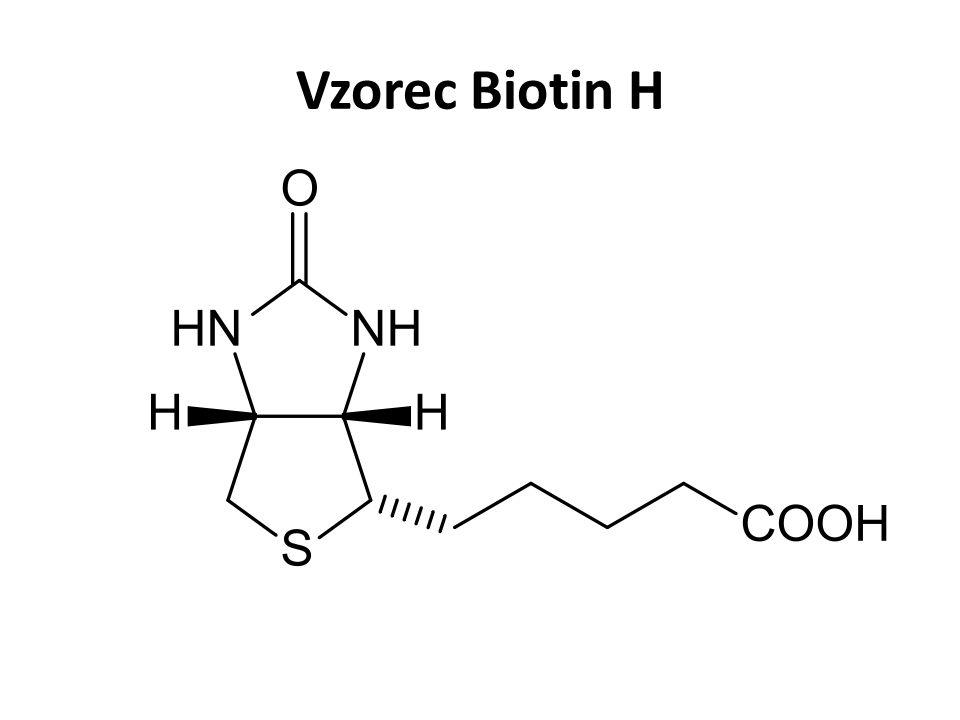 Vzorec Biotin H