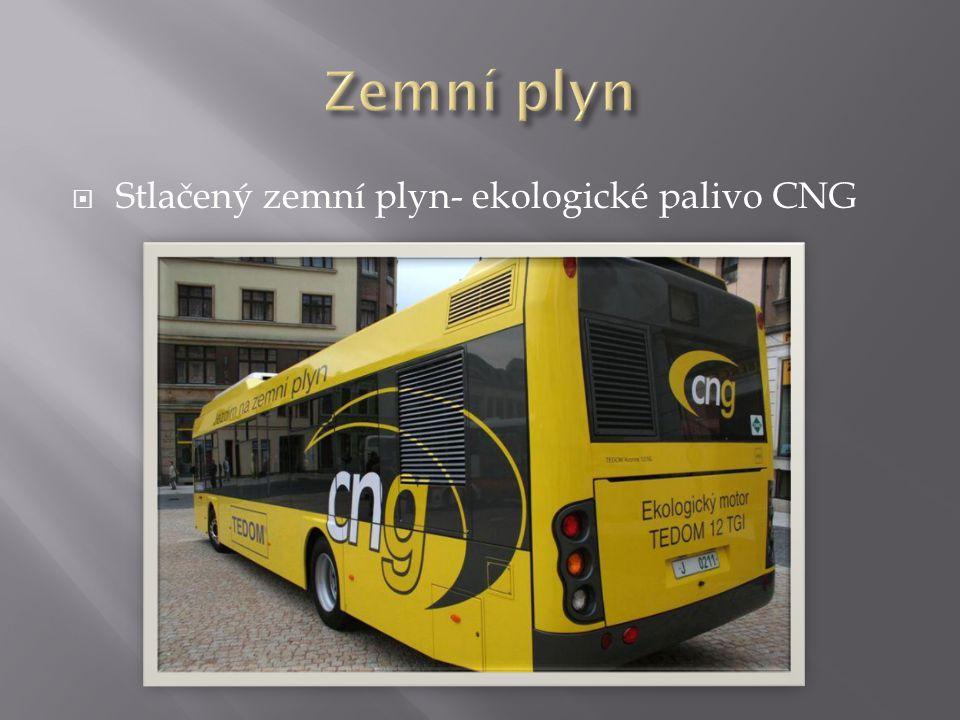  Stlačený zemní plyn- ekologické palivo CNG
