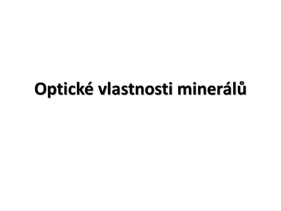Optické vlastnosti minerálů
