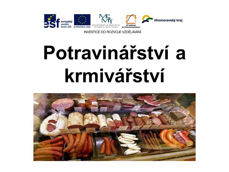Potravinářství a krmivářství