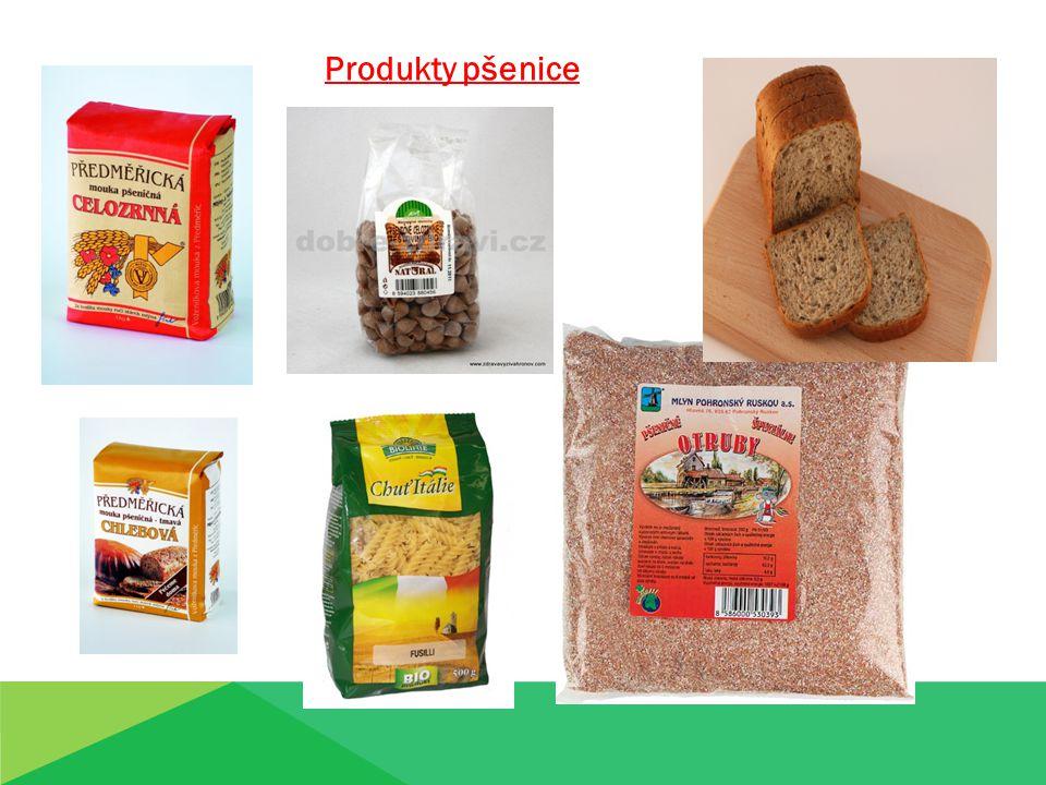 Produkty pšenice