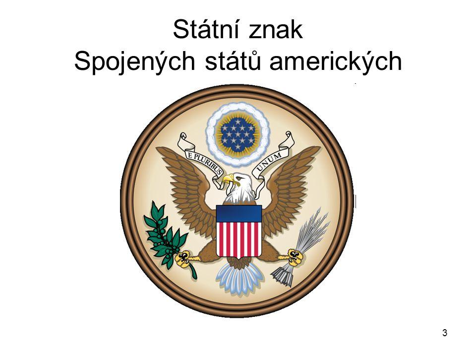 3 Státní znak Spojených států amerických