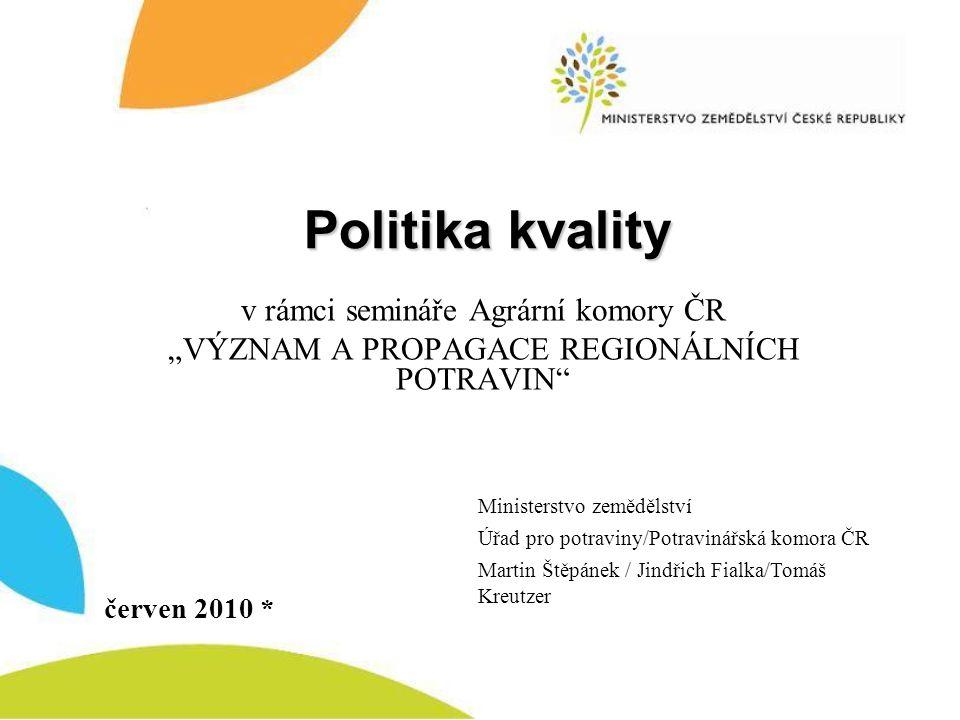 Výzkum KLASA Spotřebitelky nejvíce oceňují existenci zvláštní značky pro kvalitní české potraviny.