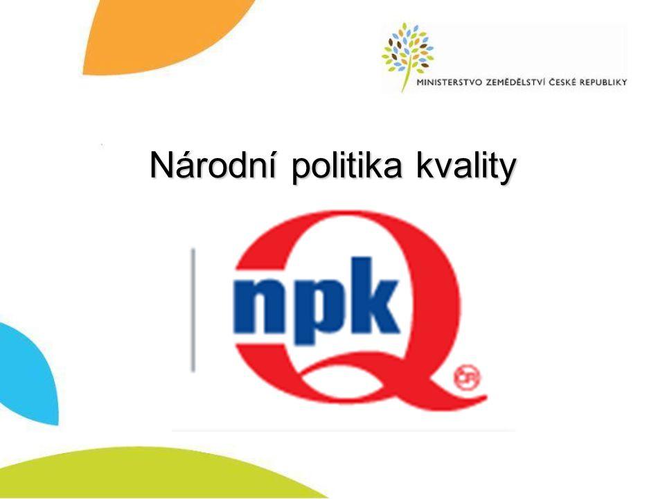 Národní politika kvality